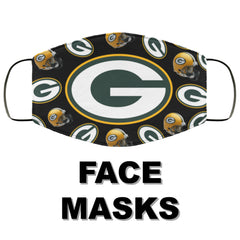 Green Bay Packers Face Masks