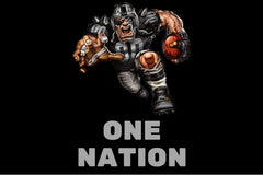Raiders One Nation Football Player
