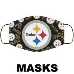 Pittsburgh Steelers Face Masks