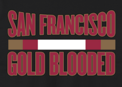 San Francisco Gold Blooded With Bar