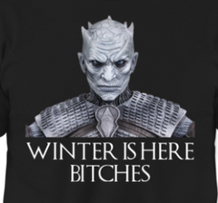 Winter Is Here Bitches