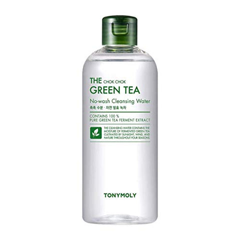 Agua Micelear con extracto de Té Verde- The Chok Chok Green Tea Cleansing Water