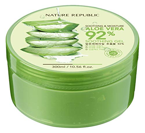 Cherry Beauty - Nature Republic Soothing And Moisture Aloe Vera 92% Gel 300 Ml de Cherry Beauty