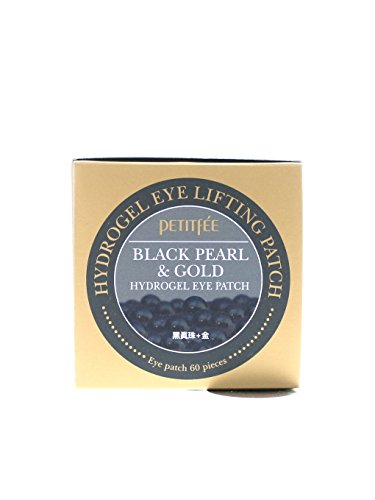 Cherry Beauty - Petitfee Black Pearl & Gold Hydrogel Eye Patch 60 Ea de Cherry Beauty