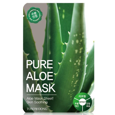 Tosowoong Pure Mask, Aloe, 23 g