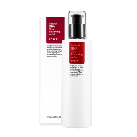 COSRX - Natural BHA Skin Returning A-Sol de Cherry Beauty