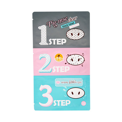 Holika Holika - Pig Nose Clear Blackhead 3-Step Kit de Cherry Beauty