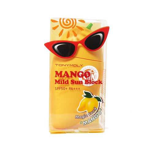 TonyMoly - Magic Food Mango Mild Sun Block de Cherry Beauty
