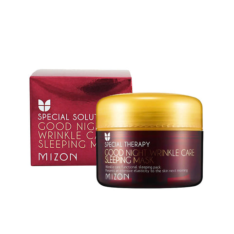 Mizon - Special Solution Good Night Wrinkle Care Sleeping Mask de Cherry Beauty