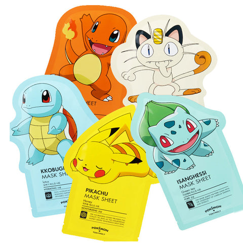 TonyMoly - Pokemon Mask Sheet All-In-One de Cherry Beauty