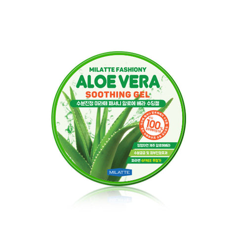 Milatte - Aloe Vera Soothing Gel 100% de Cherry Beauty