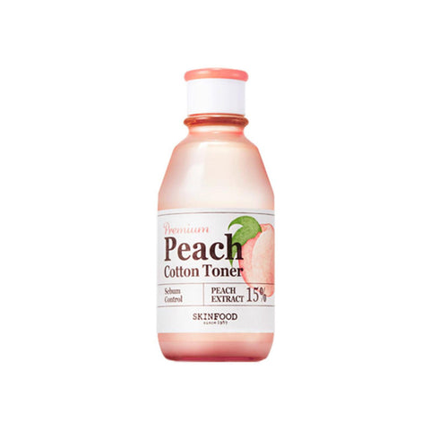 Skin Food - Premium Peach Cotton Toner de Cherry Beauty
