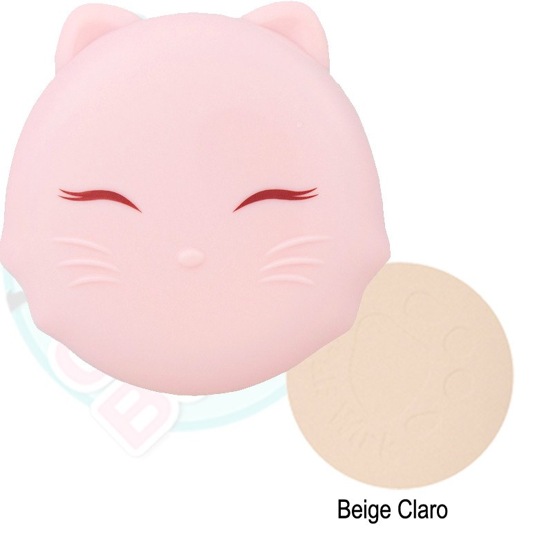 TonyMoly - Cats Wink Clear Pact de Cherry Beauty