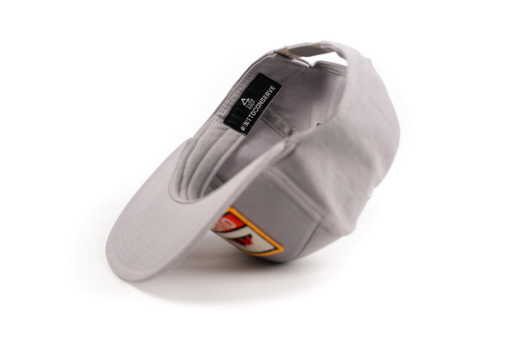 Over & Out Gray Ranger Trucker Hat inside tag