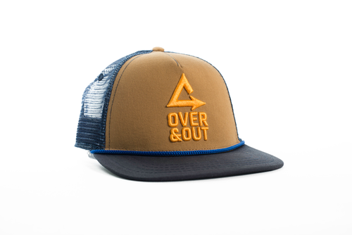 Over & Out Switchback Snapback Trucker Hat