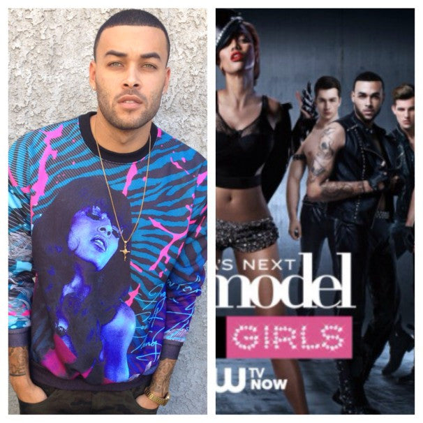 AMERICA'S NEXT TOP MODEL SUPPORTS REBELLIOUS CLOTHING CO. W/DON BENJAMIN (CYCLE 20)