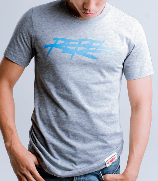 Rebellious Clothing Co. MEN'S NEW 2019 REBEL TEE - GRAY + Various Colors