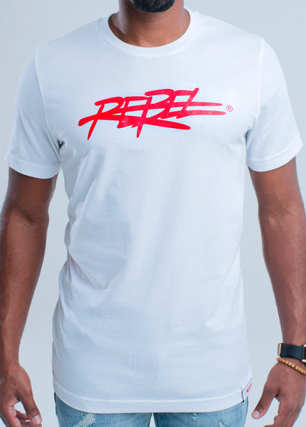 MEN'S NEW 2019 REBEL TEE - ICY WHITE + Various Colors