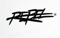 Rebellious Clothing Co. MEN'S NEW 2019 REBEL TEE - ICY WHITE + Various Colors