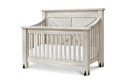 Providence 4-in-1 Convertible Crib w/Toddler Bed Conversion Kit