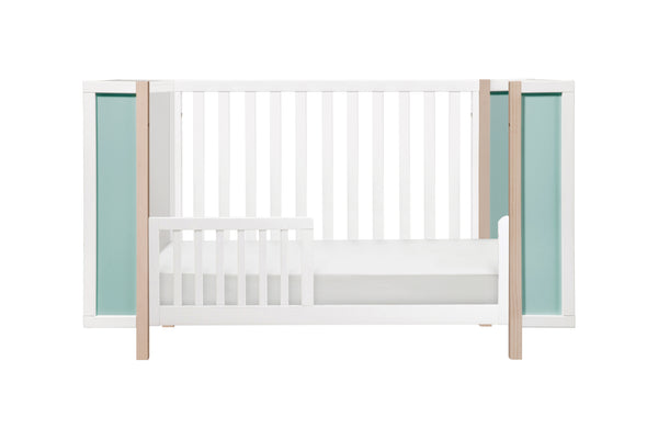 Bingo 3-in-1 Convertible Crib & Storage Combo w/Toddler Bed Conversion Kit