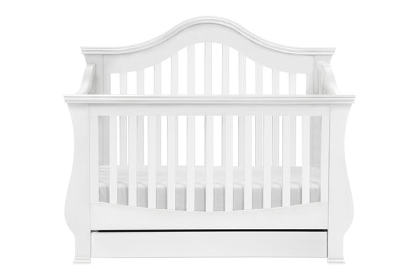 Ashbury 4-in-1 Convertible Crib w/Toddler Bed Conversion Kit