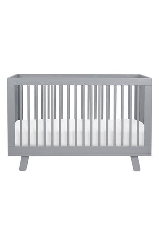Hudson 3-in-1 Convertible Crib w/Toddler Bed Conversion Kit