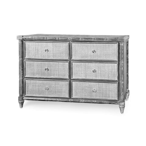 Bungalow 5 FAIRFAX 6-DRAWER, GRAY