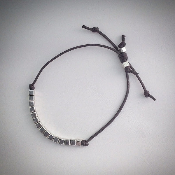 Men's beaded bracelet - eDgE dEsiGn London