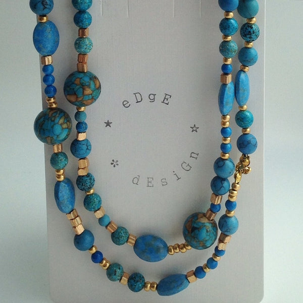 Beaded Necklace - eDgE dEsiGn London