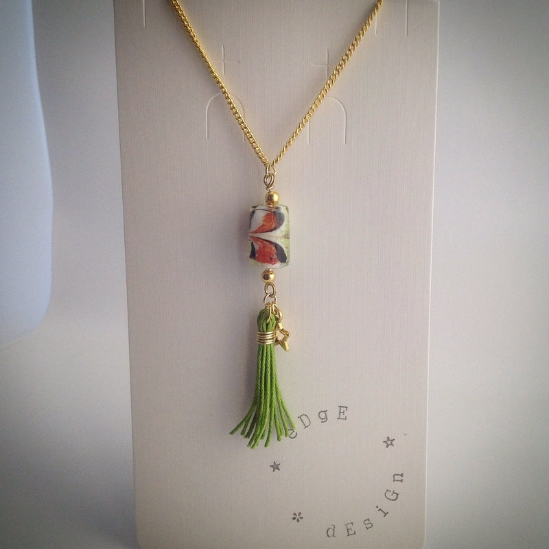 Gold plated Necklace with Pendant - eDgE dEsiGn London