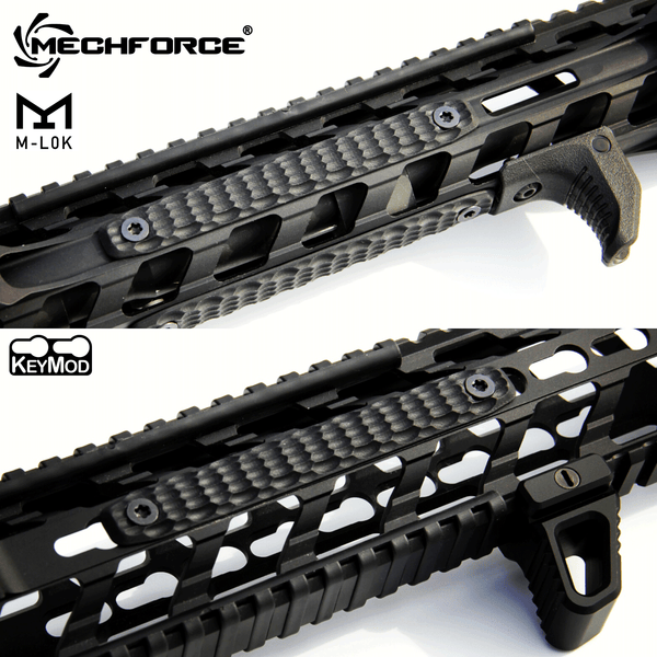 Mechforce G10 Scale Rail Grip panel YouTube Video Review by Brad C