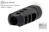 Mechforce Enforcer Muzzle Brake Compensator 5/8-24 TPI .308 / 7.62mm with 4 Variable Timing Crush Washers