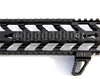 Mechforce G10 Scale Hand Grip Panel, Keymod Rail Handguard Cover, 6 Slot Length
