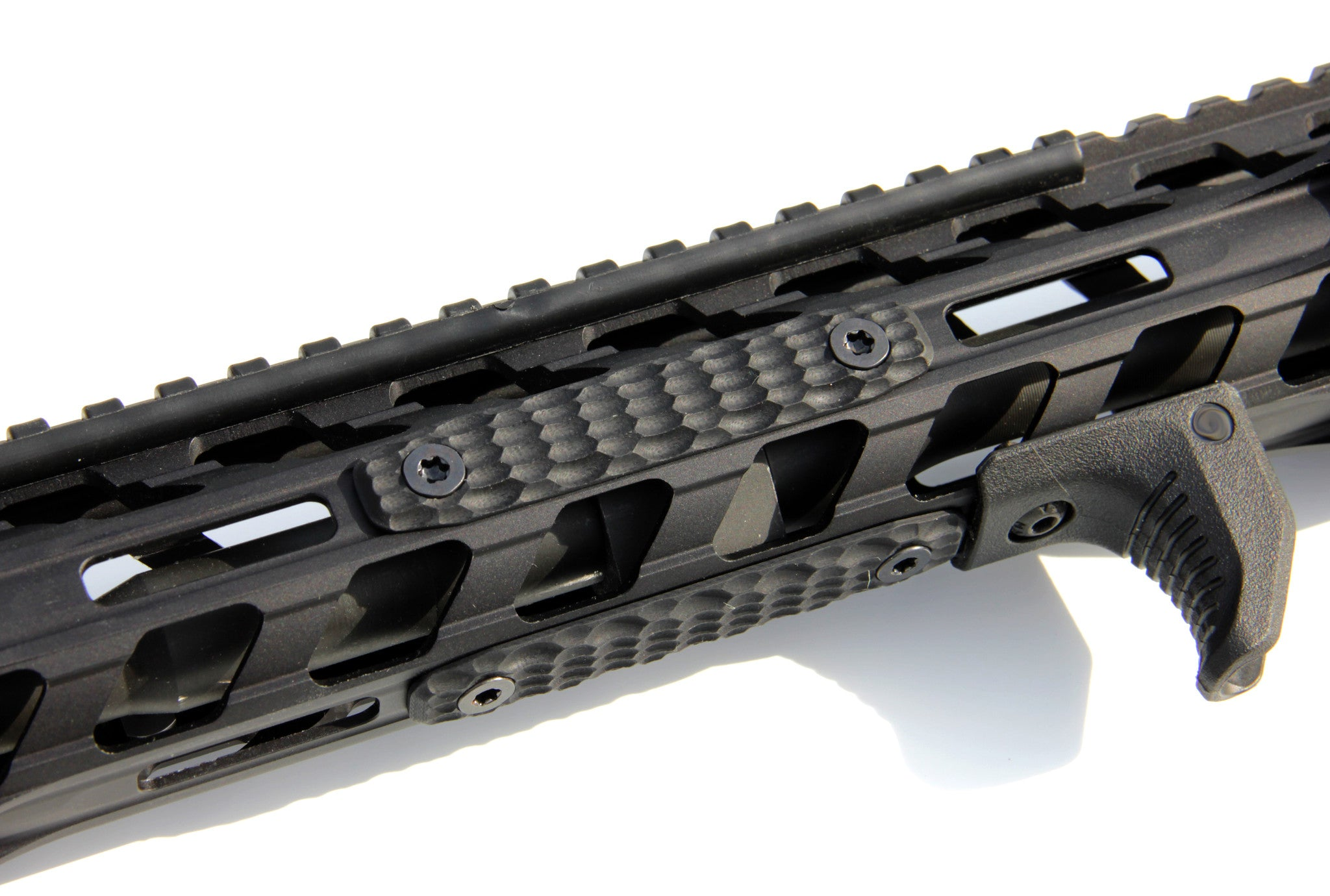 Mechforce G10 Scale Hand Grip Panel for MLok Rail Handguard Cover, 2 S