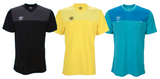 Umbro Caution Short Sleeve Referee Jersey (Black, Yellow, Blue)