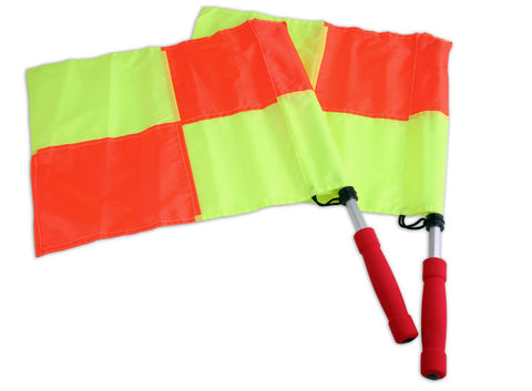 Whistler Sports Deluxe Checkered-Style Swivel Flags Set