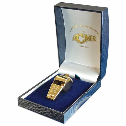 ACME Thunderer Gold Plated Whistle