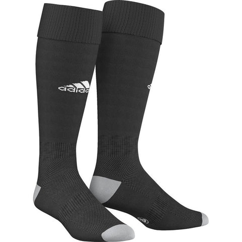 Adidas Milano Referee Socks - Black with White Logo