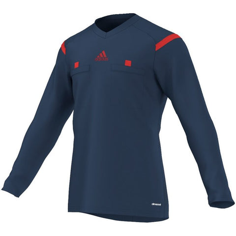 Adidas 14 Referee Jersey Long Sleeve - Collegiate Navy