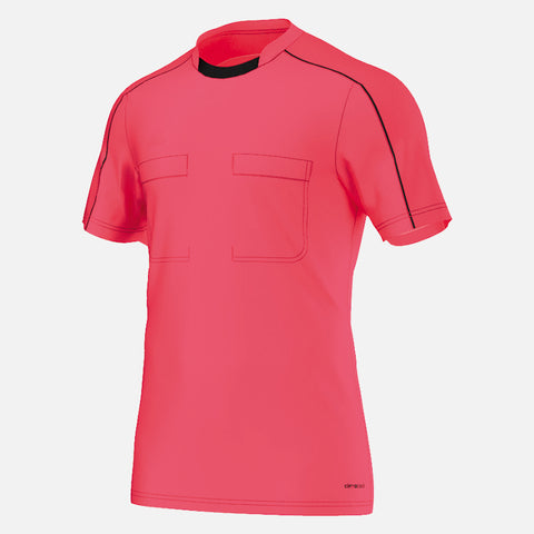Adidas 16 Short Sleeve Referee Jersey - Shock Red