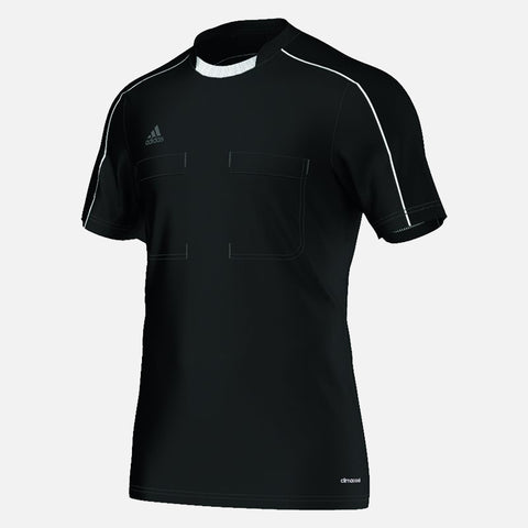 Adidas 16 Short Sleeve Referee Jersey - Black