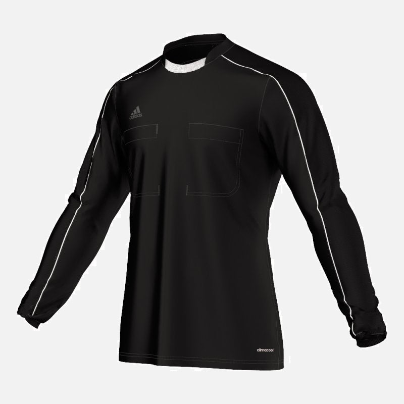 70e80632c1a Adidas 16 Long Sleeve Referee Jersey - Black – Whistler Sports