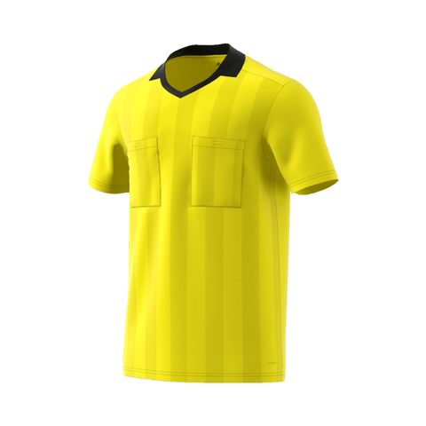 cf838dbe0 Adidas 18 Short Sleeve Referee Jersey - Shock Yellow