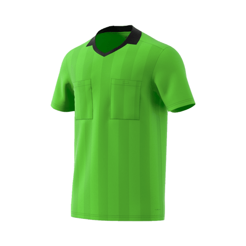 b843400e3 Adidas 18 Short Sleeve Referee Jersey - Semi Solar Green