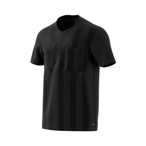 Adidas 18 Short Sleeve Referee Jersey - Black