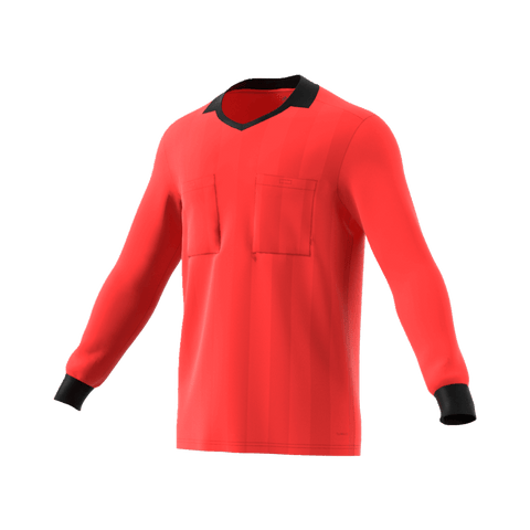 Adidas 18 Long Sleeve Referee Jersey - Bright Red