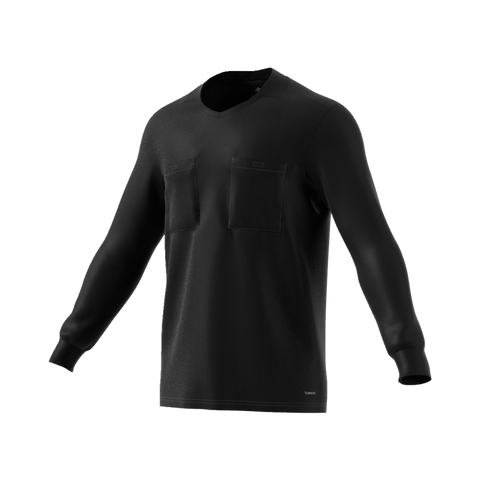 Adidas 18 Long Sleeve Referee Jersey - Black