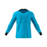Adidas 18 Long Sleeve Referee Jersey - Bright Cyan (Light Blue)