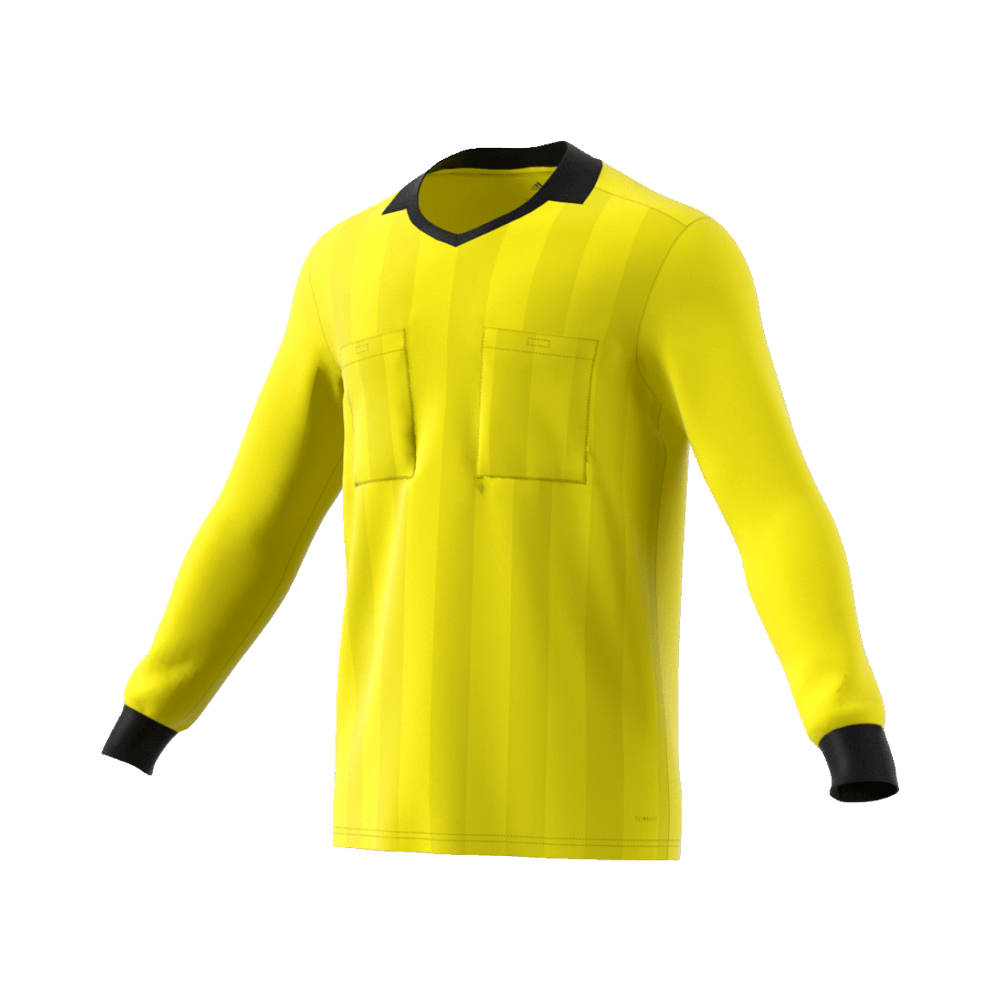 683d1e1e0b Adidas 18 Long Sleeve Referee Jersey - Sock Yellow – Whistler Sports